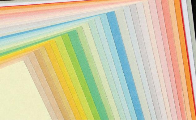 用紙の特徴 色上質紙